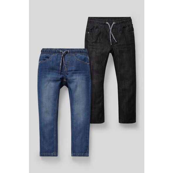 Straight Jeans - 2er Pack