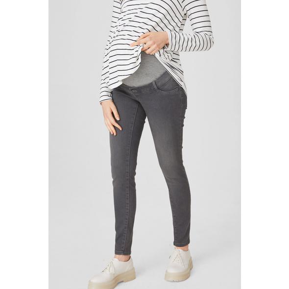 Skinny Jeans - Umstandsjeans - Bio-Baumwolle