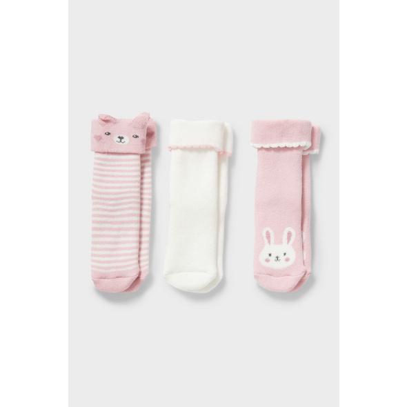 Multipack 3er - Baby-Socken - Winter