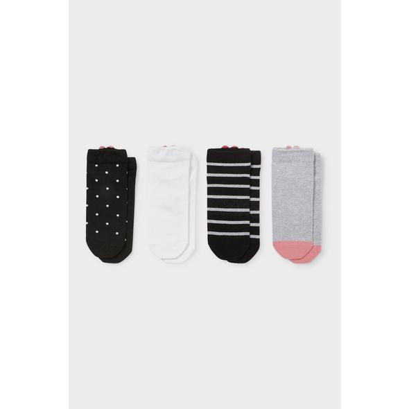Multipack 4er - Sneakersocken - Bio-Baumwolle