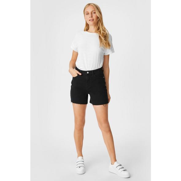Jeans-Shorts - wassersparend produziert