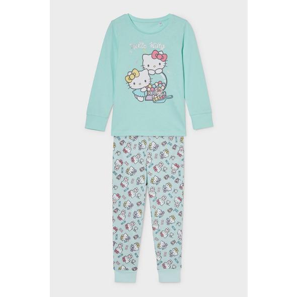 Hello Kitty - Pyjama - Bio-Baumwolle - 2 teilig