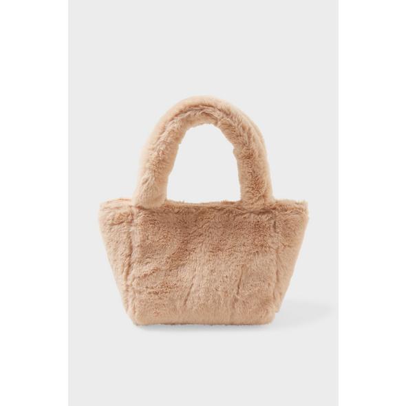 Kunstfell-Tasche