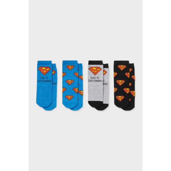Multipack 4er - Superman - Baby-Socken