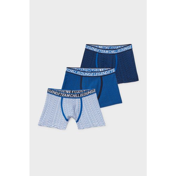 Multipack 3er - Boxershorts - Bio-Baumwolle