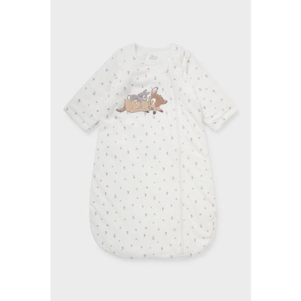 Bambi - Baby-Schlafsack - geblümt
