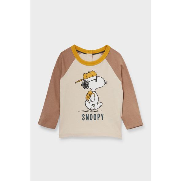 Snoopy - Baby-Langarmshirt