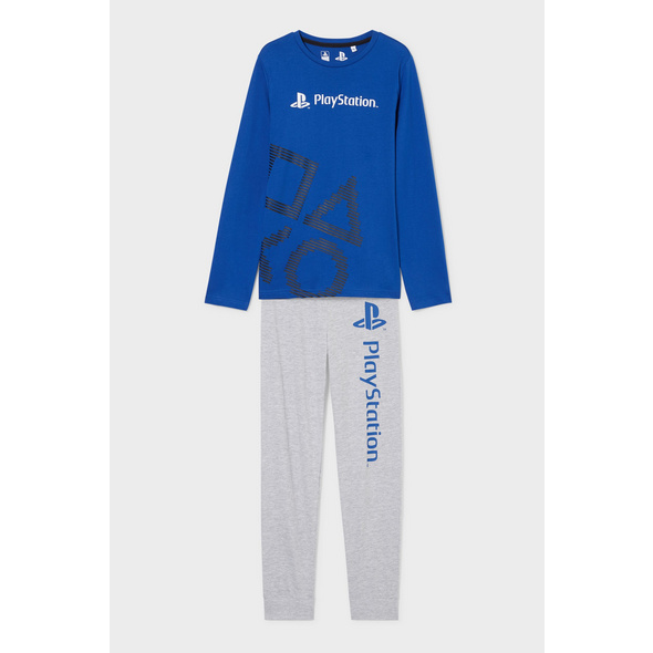 PlayStation - Pyjama - Bio-Baumwolle - 2 teilig