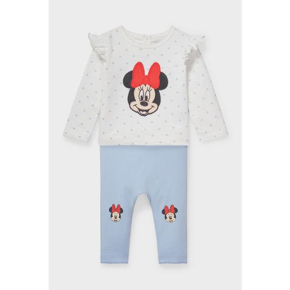 Minnie Maus - Baby-Outfit - Bio-Baumwolle - 2 teilig