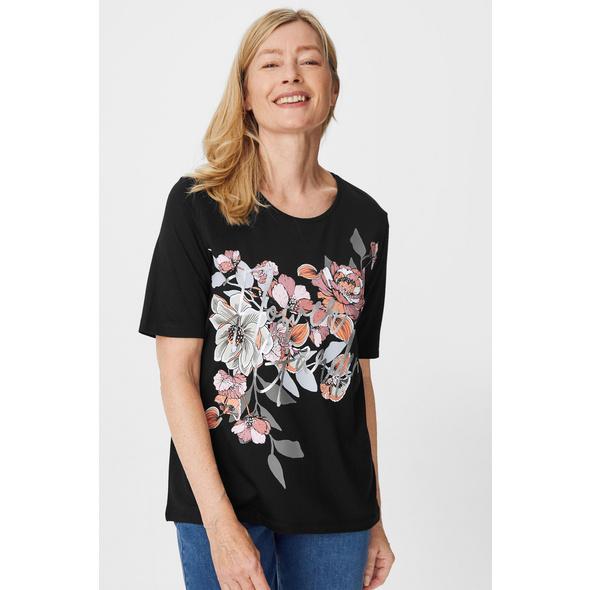 T-Shirt - Glanz-Effekt