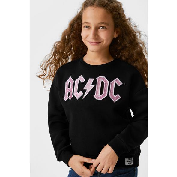 AC/DC - Sweatshirt - Glanz-Effekt