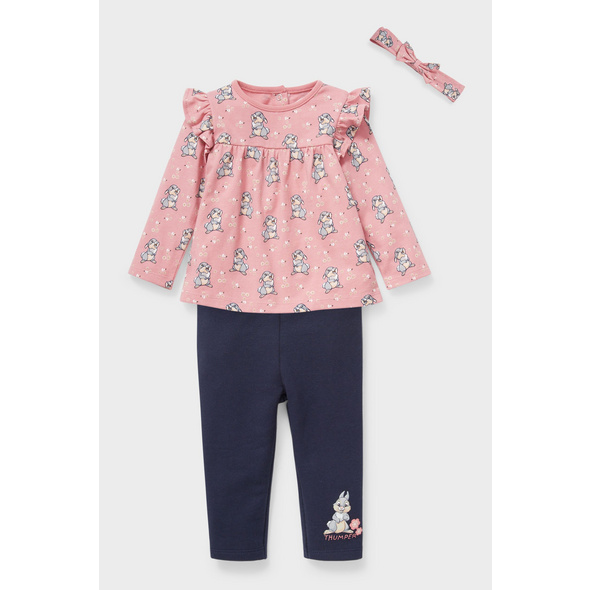 Bambi - Baby-Outfit - 3 teilig