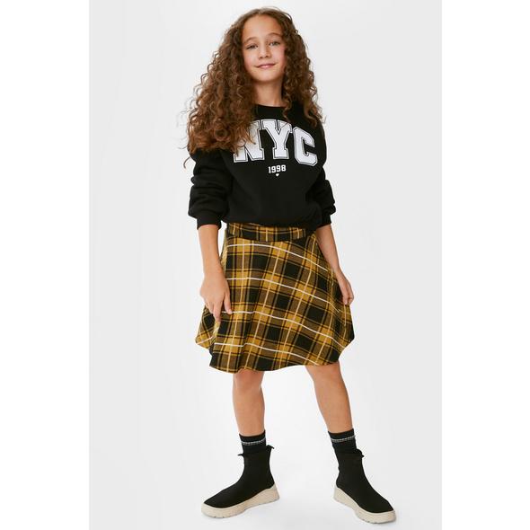 Set - Sweatshirt und Rock - 2 teilig