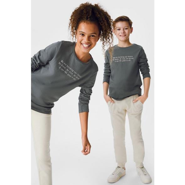 Multipack 3er - Langarmshirt - genderneutral - Bio-Baumwolle