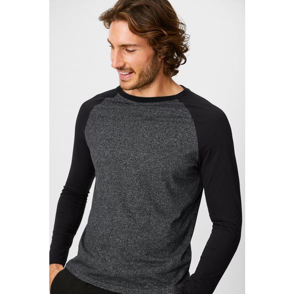 Langarmshirt - Bio-Baumwolle